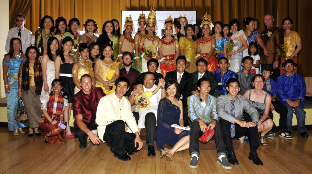 A Magical Night in Cambodia 2012 Group Photo