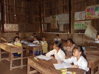 Interior of Phoum Bourn Svay Klaing Elementary School